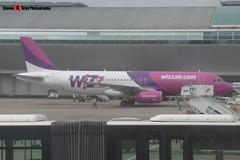 HA-LYU - 3531 - Wizzair - Airbus A320-232 - Luton - 160611 - Steven Gray - P1000040
