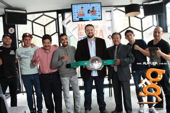 Rueda De Prensa - Guadalajara, Guadalajara Es Box (20 - Oct - 2016)
