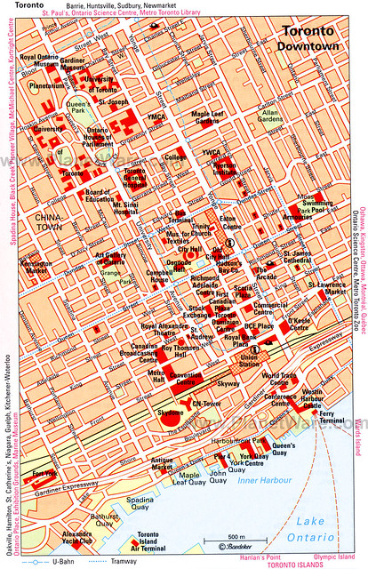 toronto-downtown-map