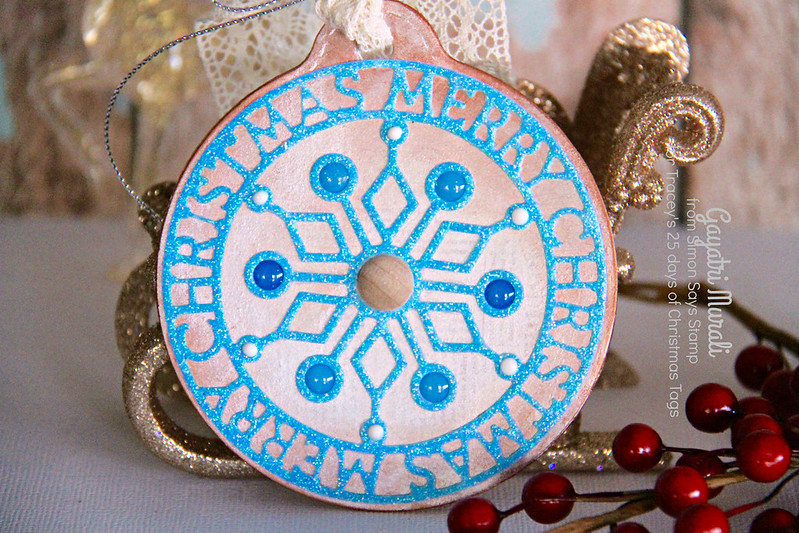 SSS christmas tag closeup