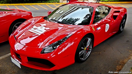 Ferrari 488   Largada Chile Primer Incontro Ferrari Sudamérica