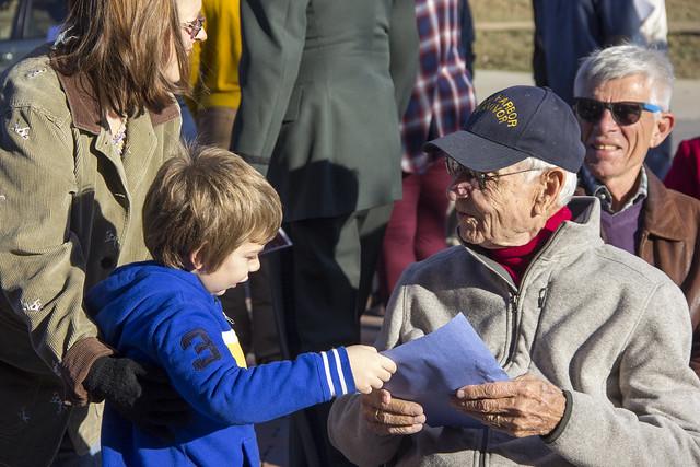 Veterans Memorial Rededication