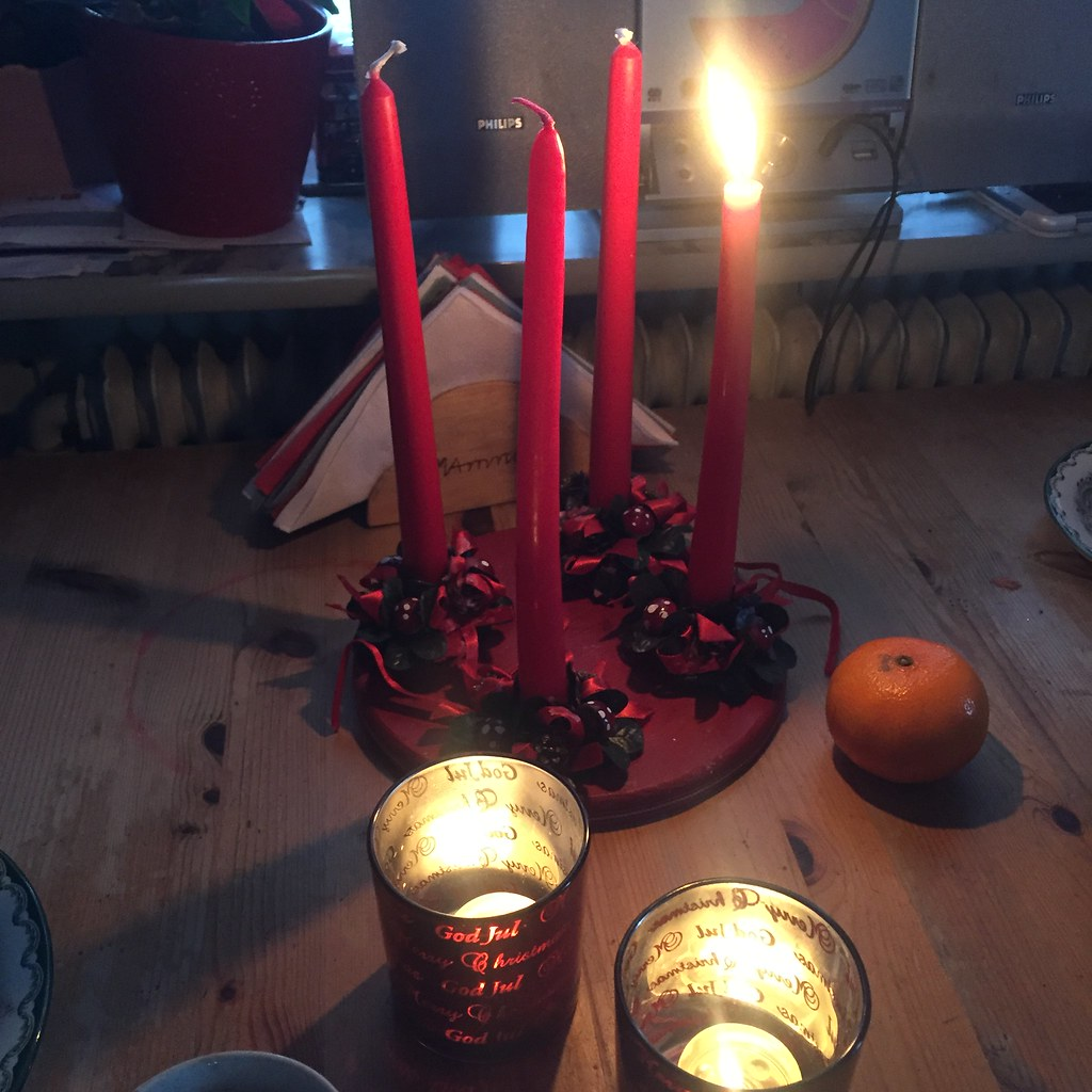 Första advent i November