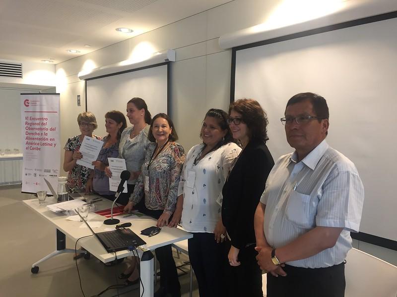 VI Encuentro Regional del Observatorio del Derecho a la Alimentación en América Latina y el Caribe