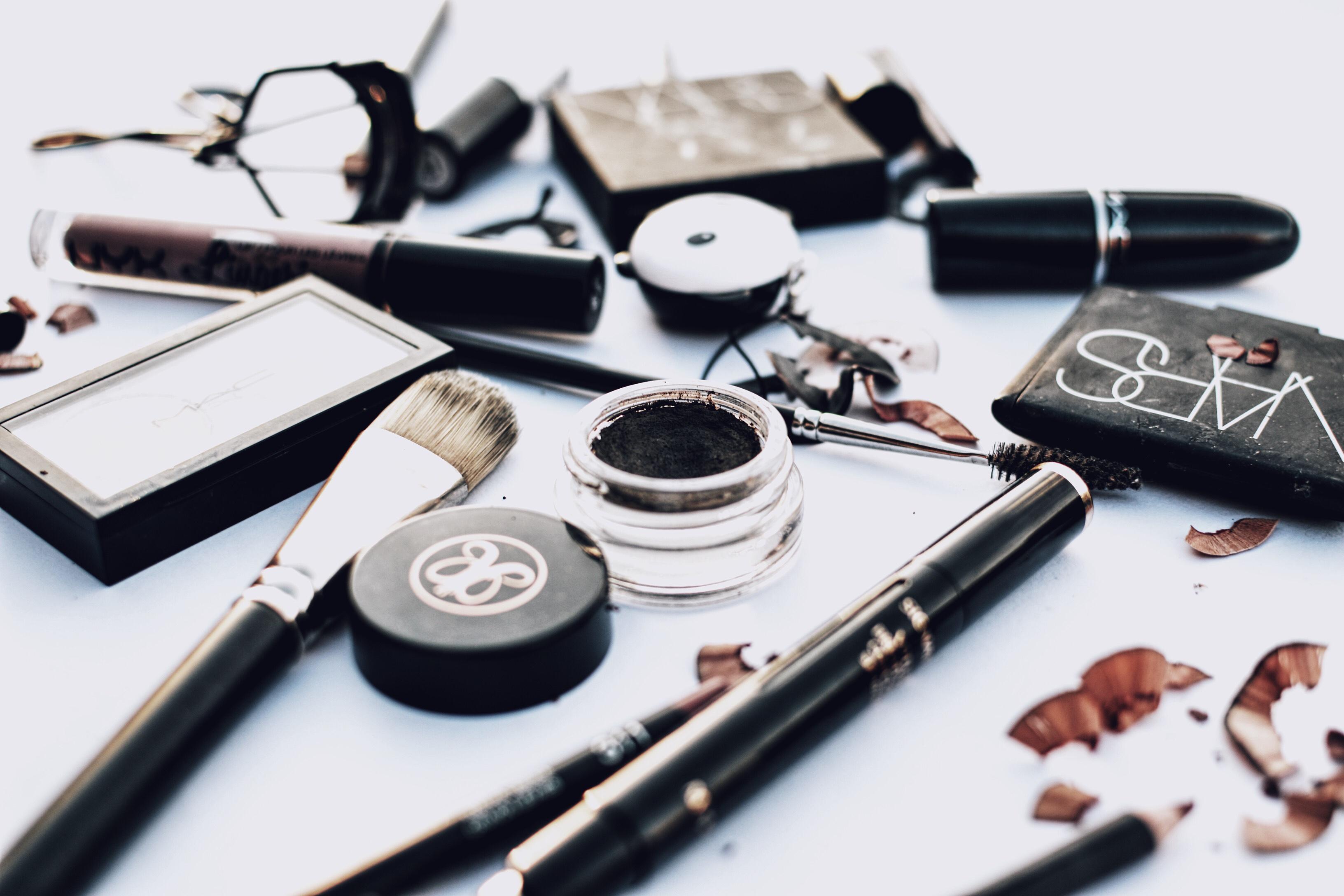 empezar un neceser de maquillaje