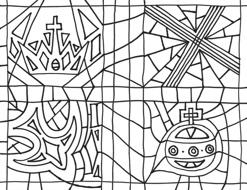 Coloring Sheet Bw Cover
