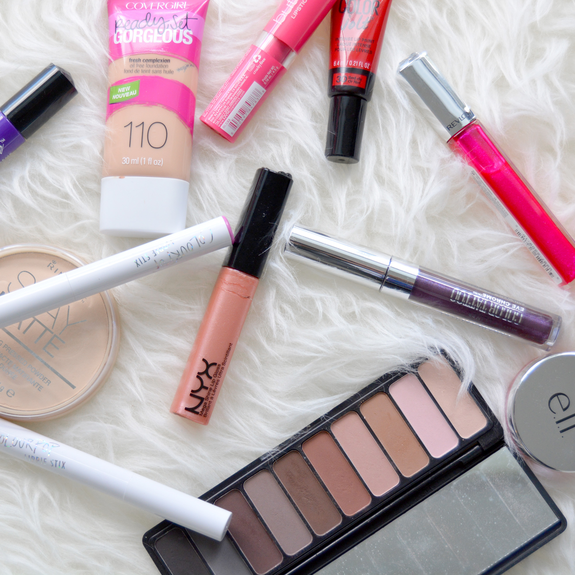 Top 5 Fall Makeup Picks Under $10