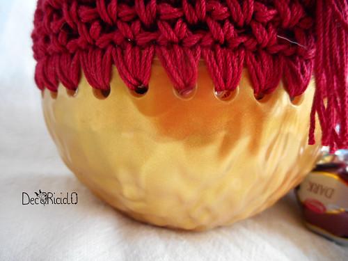 pallina di plastica e cotone con sorpresa 2
