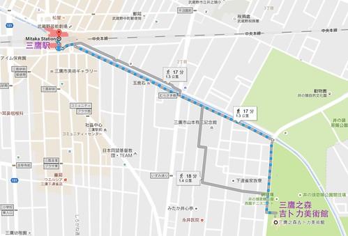 三鷹之森MAP