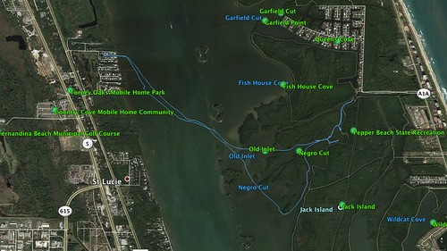 Indian River and Jack Island Route