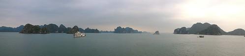 Boat trip on Halong Bay, Vietnam