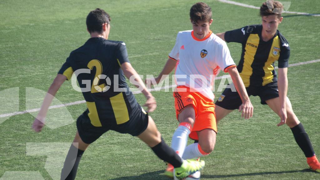 Cadetes. CD Roda 0-3 Valencia CF (29/10/2016), Jorge Sastriques