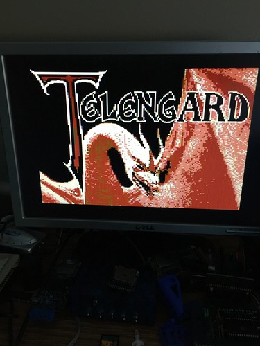 DDI Telengard title screen