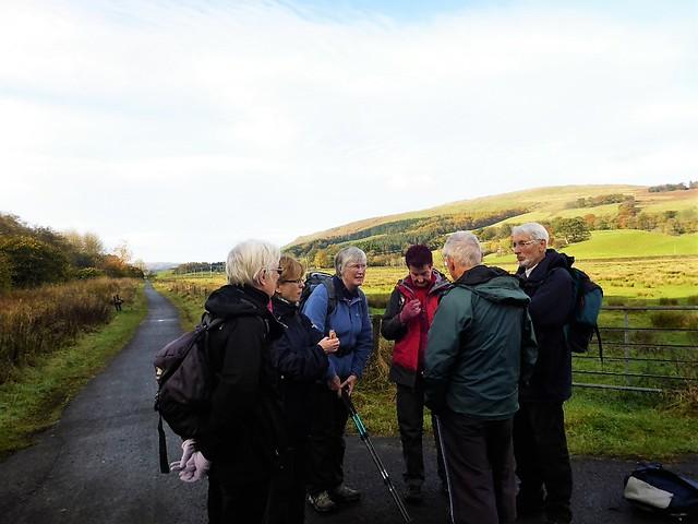 Hiking Group, Strathblane Valley, Scotland