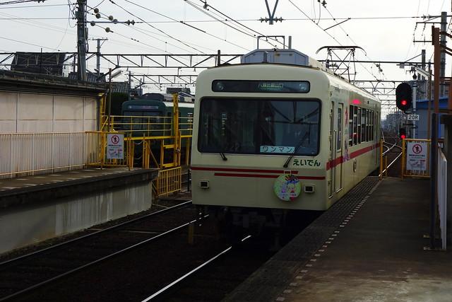2016/11 叡山電車×きんいろモザイクPretty Days ラッピング車両 #03