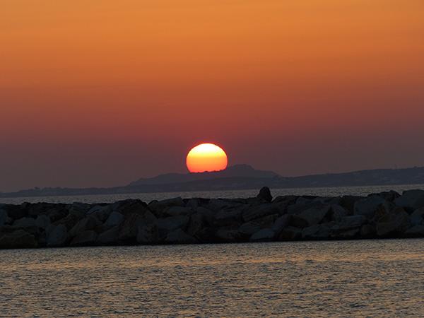 coucher de soleil grec 2