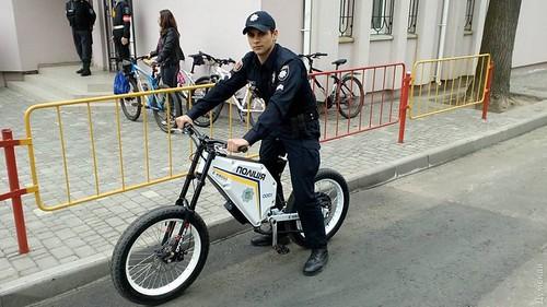 Поліцейські пересядуть навелосипеди