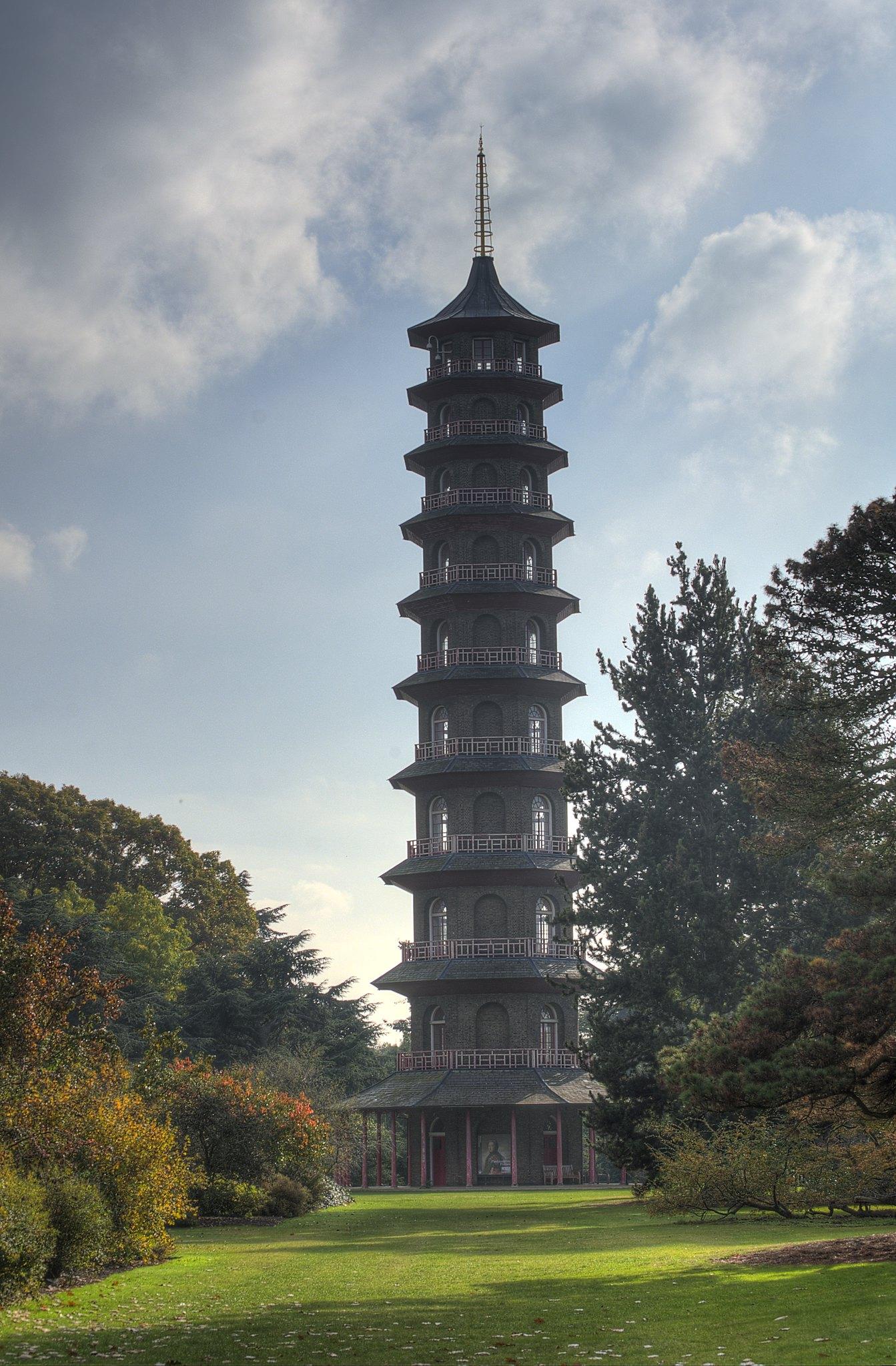 The Japanese Pagoda at Kew