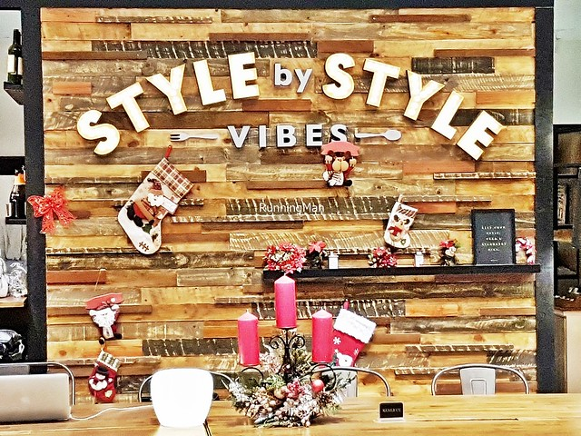Style By Style Vibes Cafe Signage