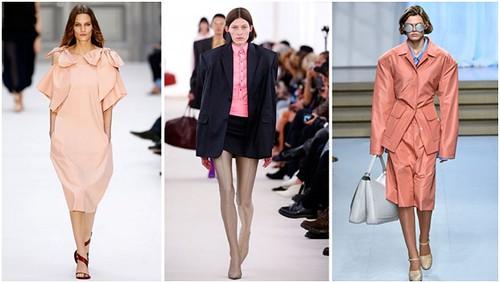 Oversized trend. Dari kiri ke kanan: Chloe, Balenciaga, Jil Sander