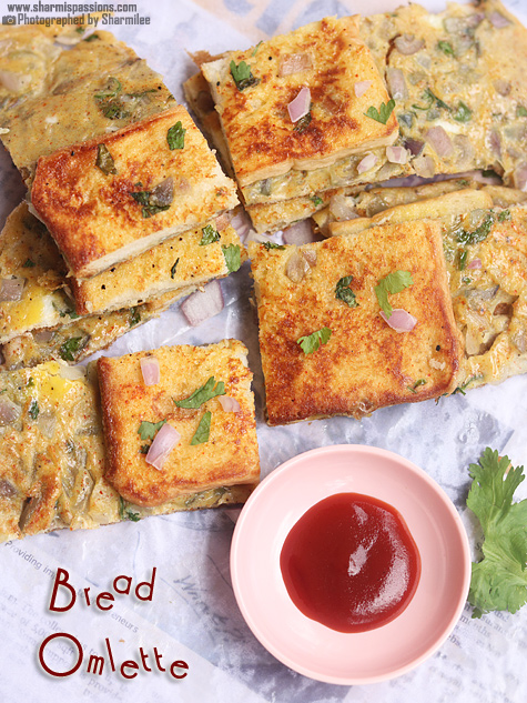Bread Omlette Recipe
