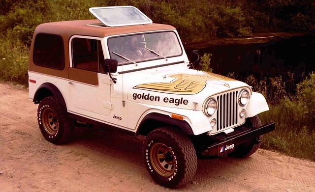 1977 Jeep CJ Golden Eagle