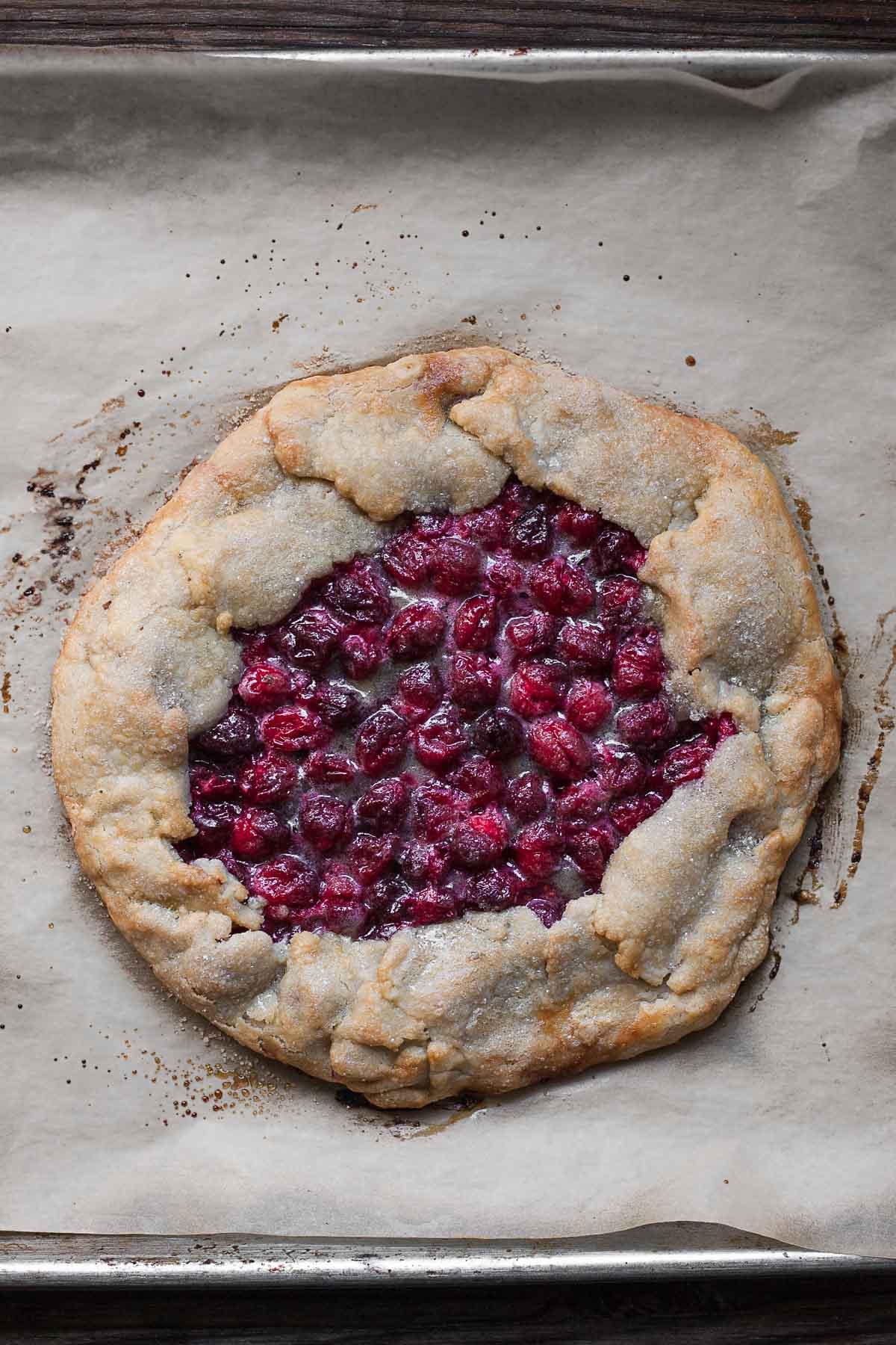Grain-free Cranberry Galette