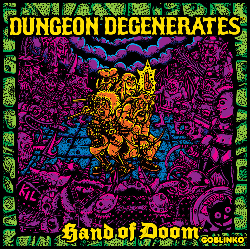 Sean Äaberg - Dungeon Degenerates, Hand of Doom Cover