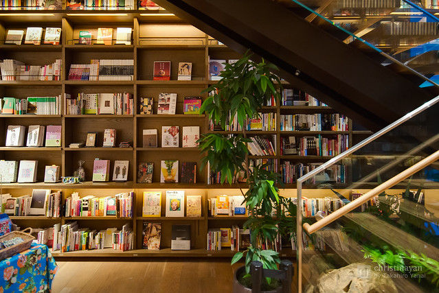 Bookshelf in TSUTAYA Hirakata Branch (蔦屋書店 枚方駅前店)