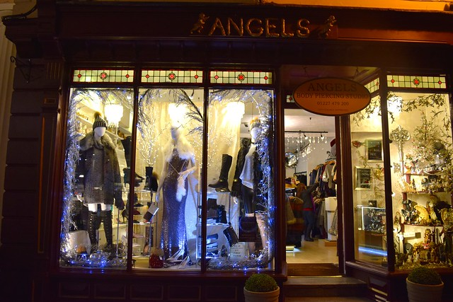 Angels Christmas Windows 2016 | www.rachelphipps.com @rachelphipps