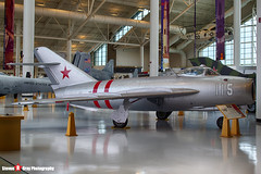 115 - - Russian Air Force - Mikoyan-Gurevich MiG-17 - Evergreen Air and Space Museum - McMinnville, Oregon - 131026 - Steven Gray - IMG_9192_HDR