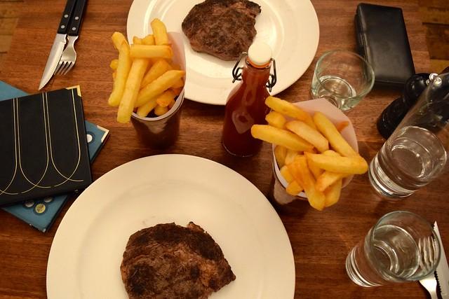Steaks at Hawksmoor, Knightsbridge | www.rachelphipps.com @rachelphipps