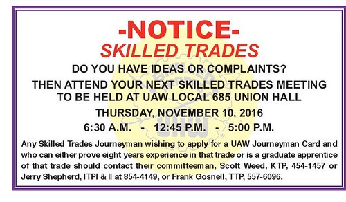 2016 Nov Dec UAW 685 nwsltr-Trades