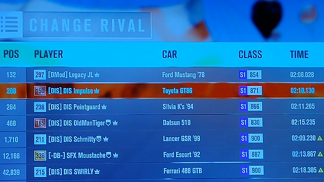 (FH3) RWD/FWD Restricted Cross Highway Trail RESULTS UP 31329309026_a401459c80_z
