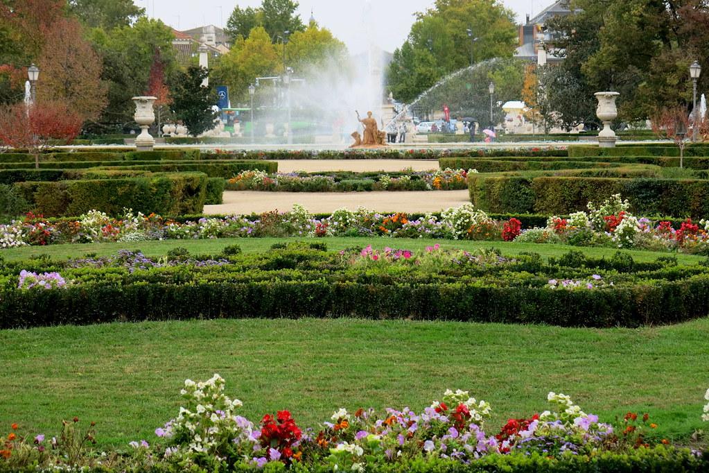 Aranjuez 4 de noviembre del 16 con lluvia