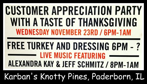 Karban's Knotty Pines 11-23-16