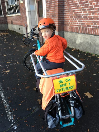 A Sign for the Bike