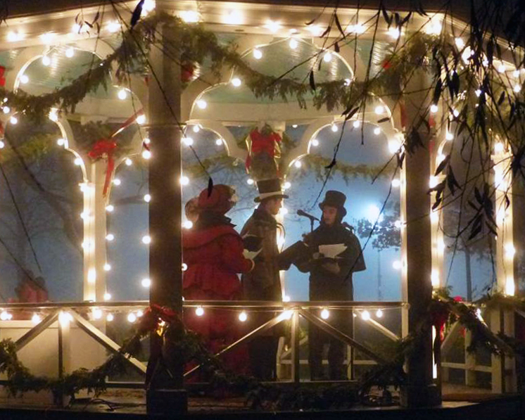 8 Michigan Bloggers Share Their Favorite Holiday Traditions - Rachel from Redesigning Happiness shares why she loves Holiday Nights in Greenfield Village // via Wading in Big Shoes