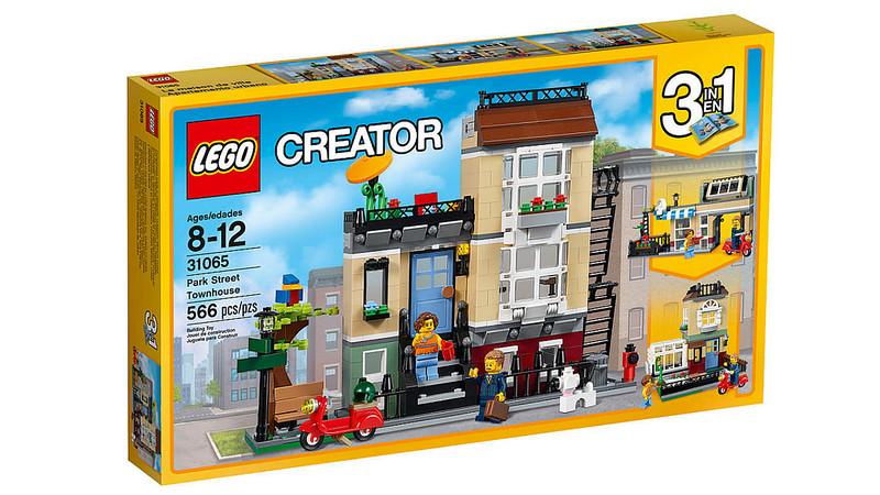 LEGO Creator 2017 - Park Street Townhouse (31065)