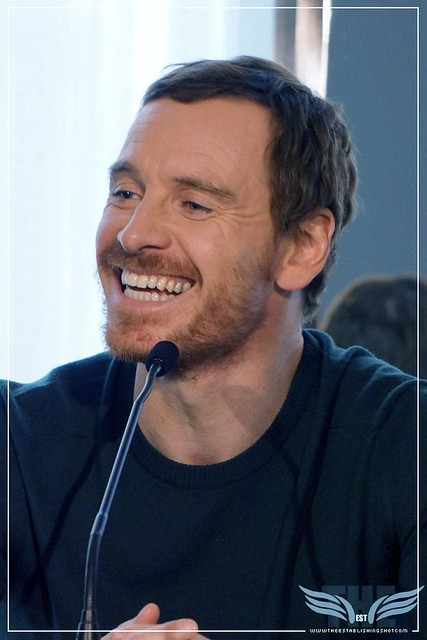 The Establishing Shot:  THE LIGHT BETWEEN OCEANS PRESS CONFERENCE - MICHAEL FASSBENDER - CLARIDGE'S, LONDON