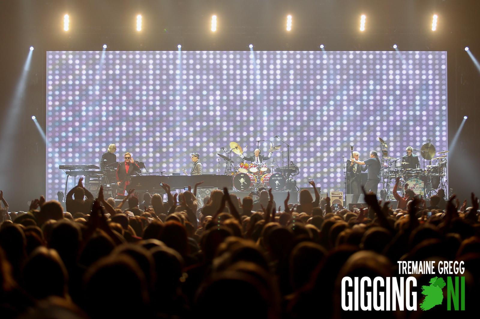 Elton John at the SSE Belfast 02.12.2016