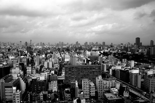 views from 'TSUTENKAKU' tower on DEC 01, 2016 (16)