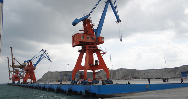 Gwadar Port in 2014, image from Government of Pakistan, http://www.gwadarport.gov.pk/picture/17b.jpg