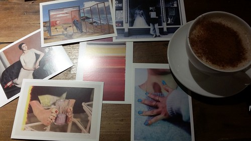 Chai Latte and Postcards