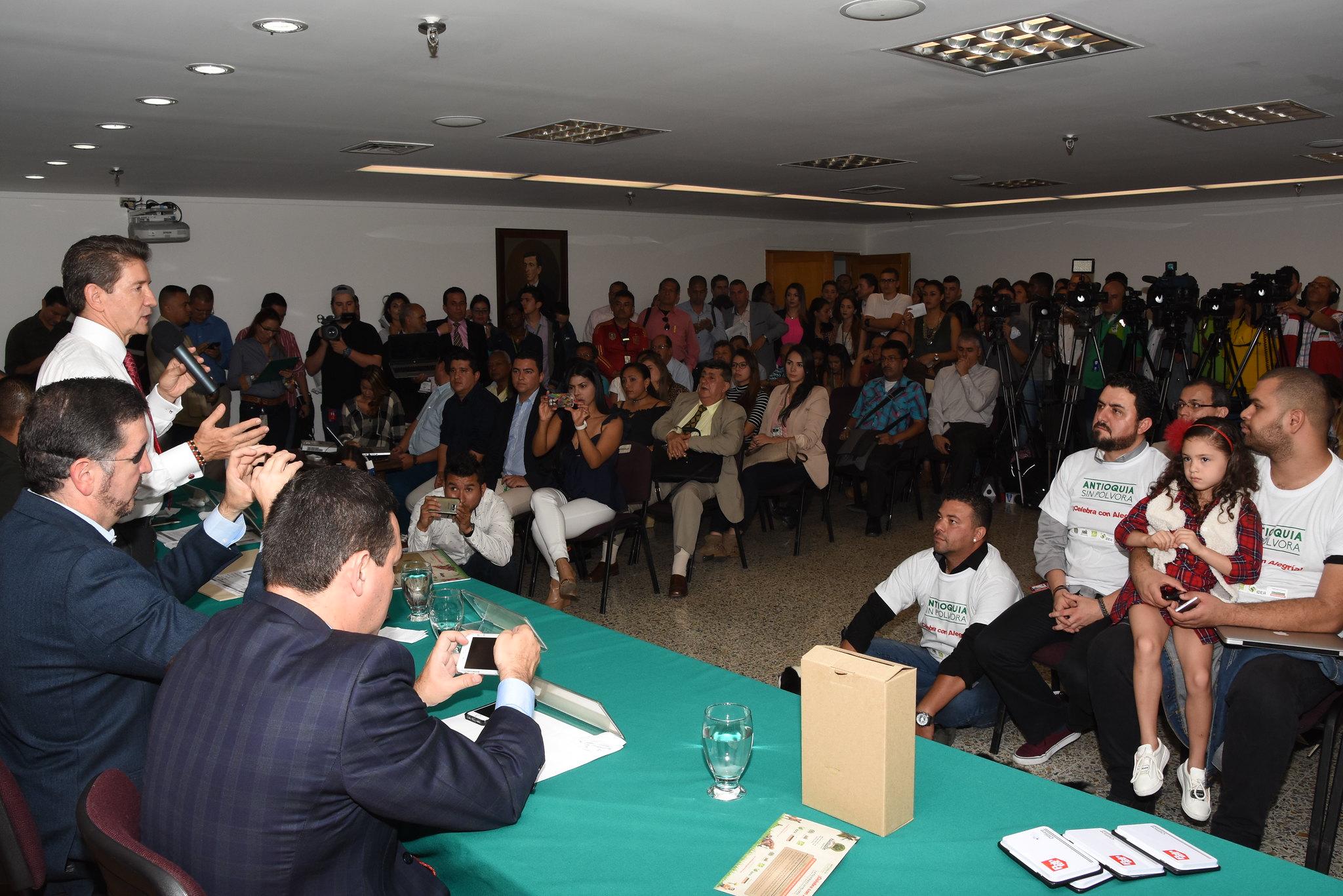 """""""Antioquia sin pólvora"""", la contundente campaña de la Gobernación de Antioquia"""