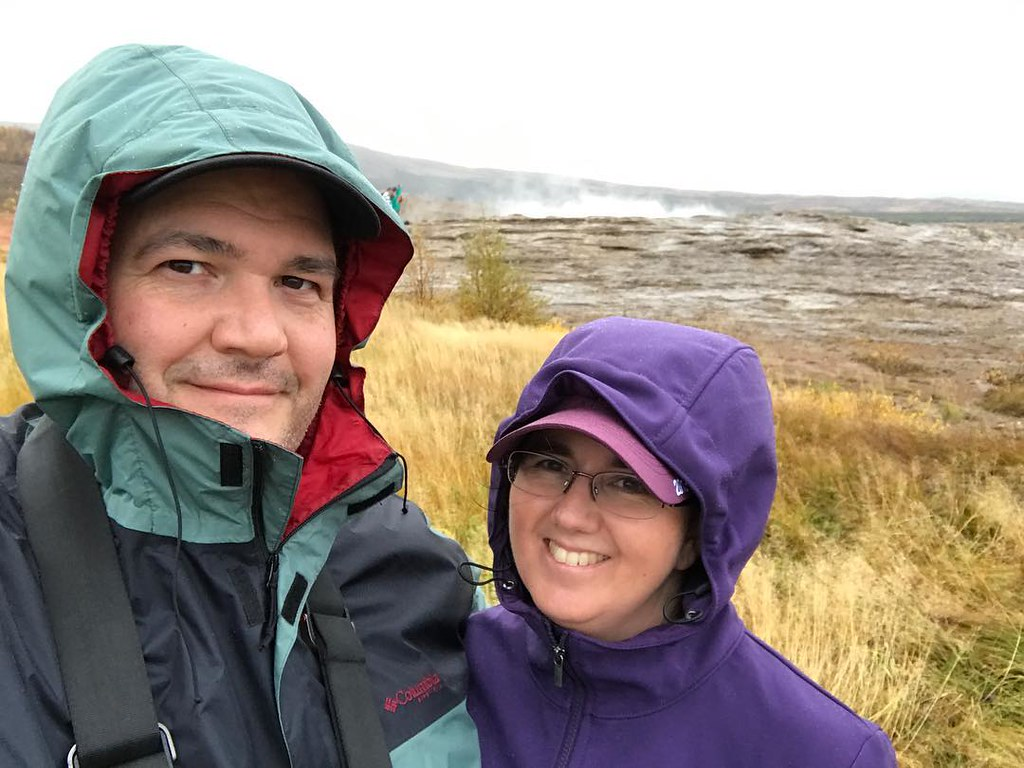 """Had no idea that there are only 5 geysers in the world. Iceland has """"the grandfather."""" #MyStopover"""