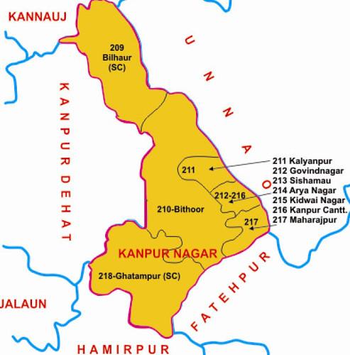 Kanpur district Uttar Pradesh Election 2017