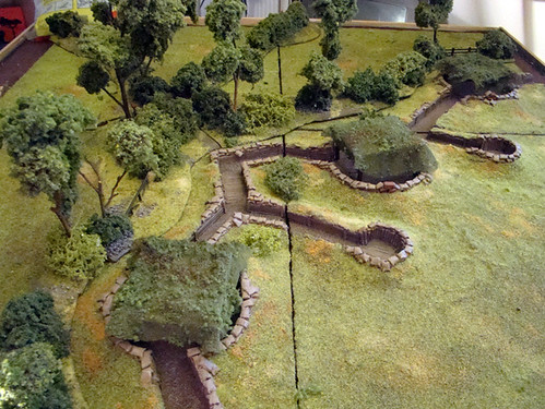 Breacourt Manor Gametable for 20mm Miniatures