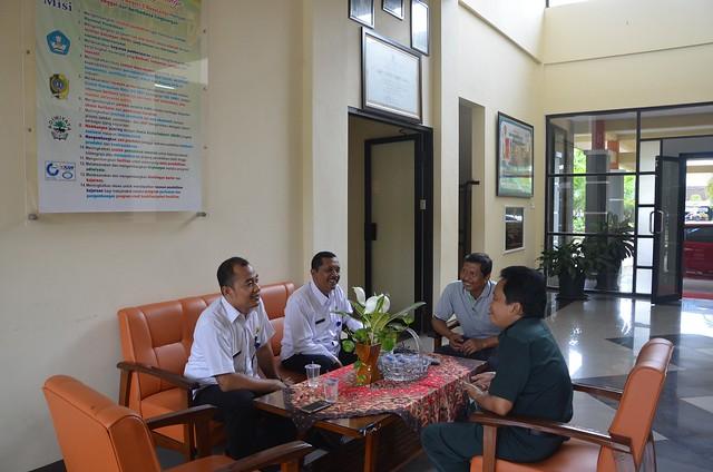 Kunjungan KPU Tulungagung ke SMKN 3 Boyolangu (10/11)