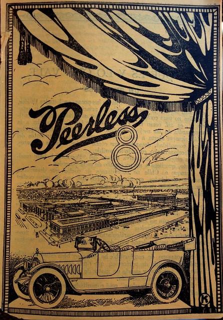 Peerless 8 ad (Chile, 1918)